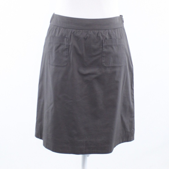 Anthropologie Maeve Dresses & Skirts - Anthropologie Maeve gray A-line skirt 0
